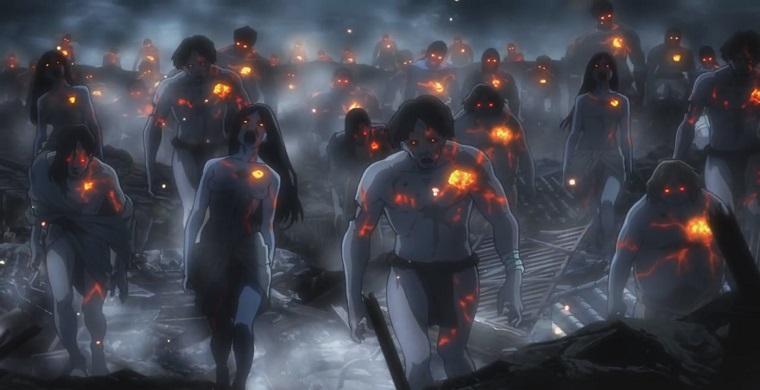 Зомби из аниме