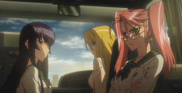 Саэко, Сая и Шидзука