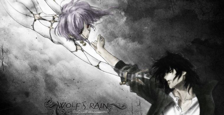 Киба и Чезу из аниме Волчий дождь