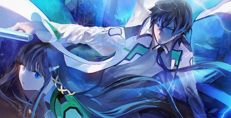 Тацуя и Миюки из аниме Непутевый ученик в школе магии