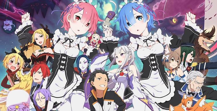 Основные персонажи Re: Zero