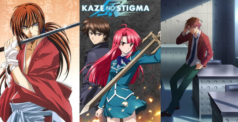 Крутые герои аниме