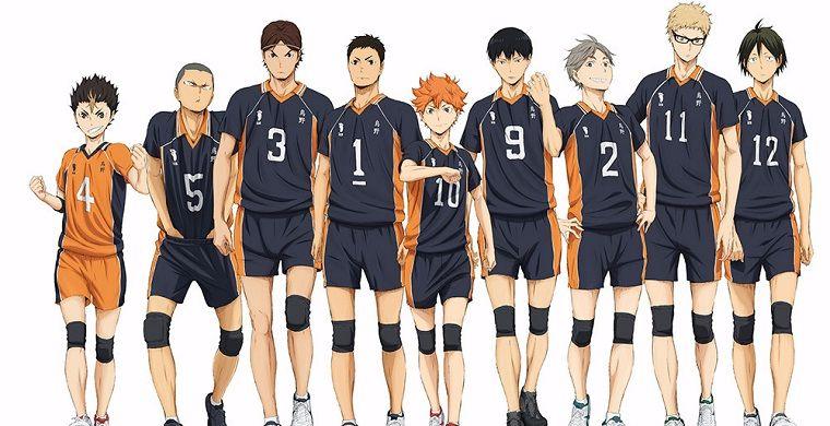 Волейбол 4 сезон аниме