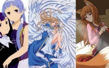 аниме про богов и богинь