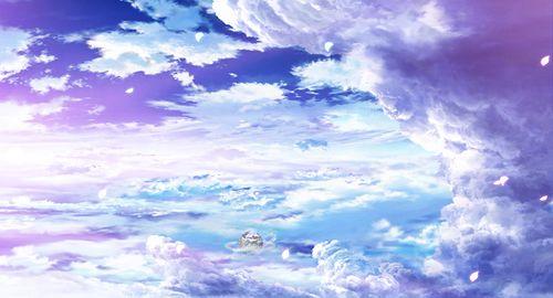 Красивый аниме фон