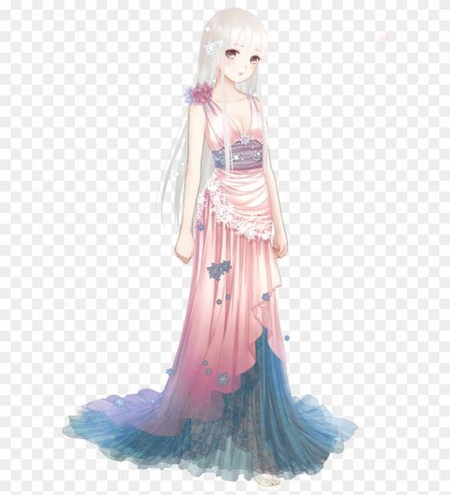 Аниме в платьях