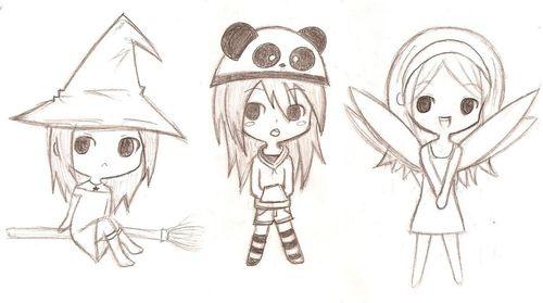 Картинки чиби аниме