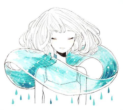 Легкие рисунки аниме