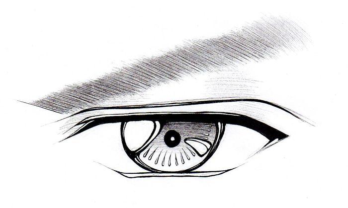 Аниме глаза