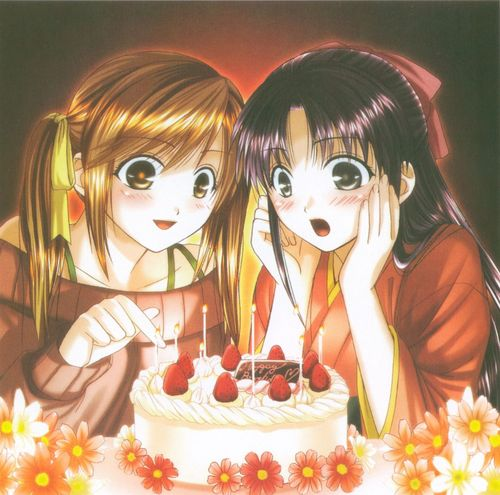Аниме картинки с днем рождения