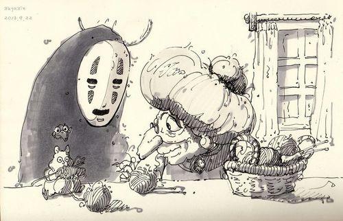 Картинки Хаяо Миядзаки