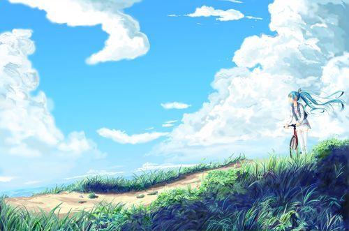 Аниме пейзажи
