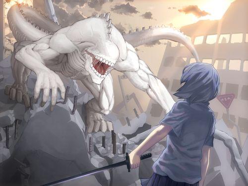 Аниме картинки монстров