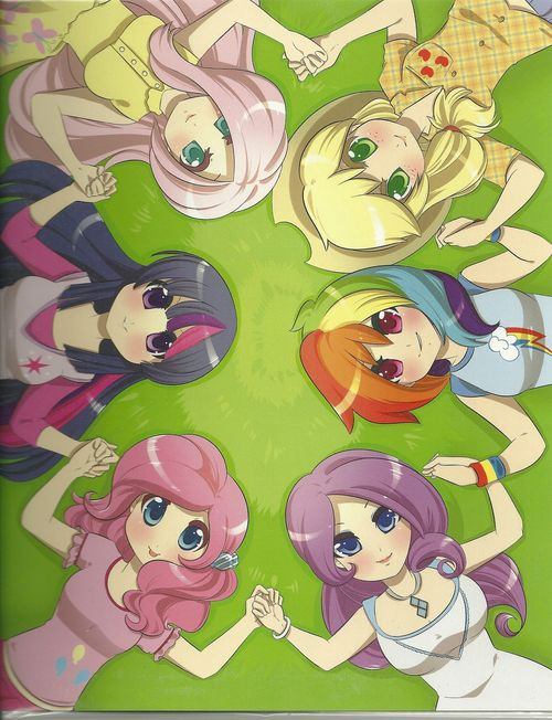 Картинки пони аниме