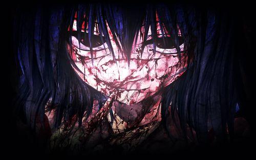 Страшные аниме картинки
