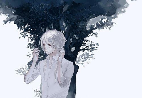 Картинки парней и девушек с белыми волосами